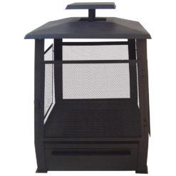 Zwarte Buitenhaard Pagoda - Esschert Design-0