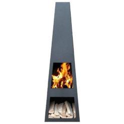 GardenmaxX Vilos XL Zwart met vuur