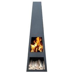 GardenmaxX Vilos Zwart met vuur