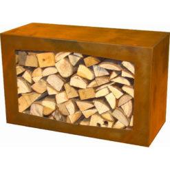 GardenmaxX Woodbox Corten