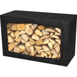 GardenmaxX Woodbox Zwart