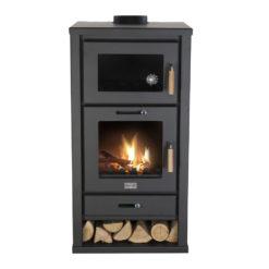 Livin' Flame Houtkachel Cosistove Major (met oven)-0